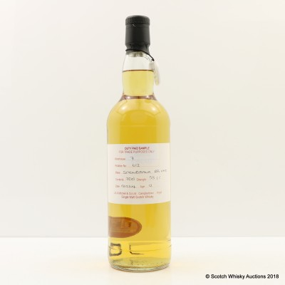 Springbank 2004 12 Year Old Duty Paid Sample