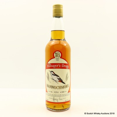 Manager's Dram Mannochmore 18 Year Old
