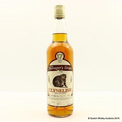 Manager's Dram Clynelish 17 Year Old