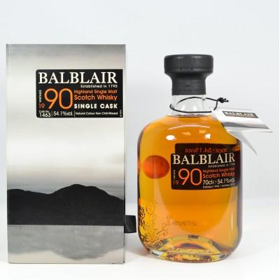 Balblair Single Cask 1990