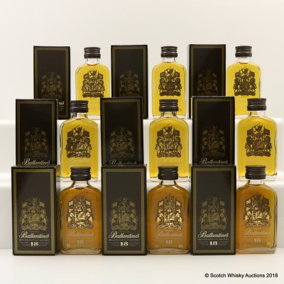 Ballantine's 18 Year Old Minis 9 x 5cl