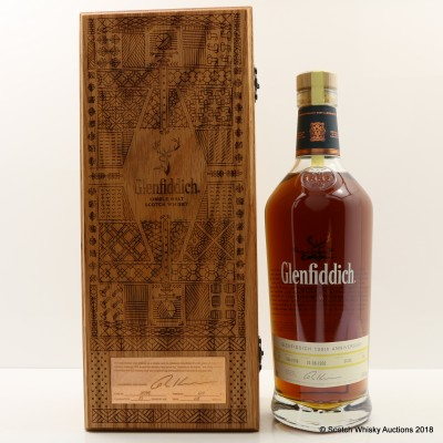 Glenfiddich 1992 25 Year Old 130th Anniversary Release #1