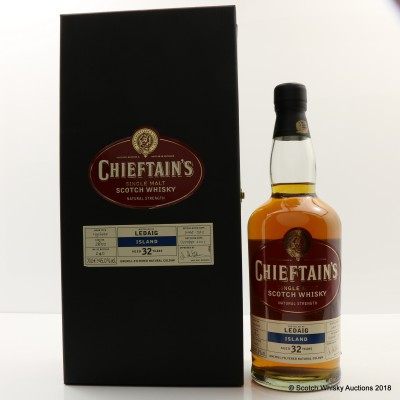 Ledaig 1973 32 Year Old Cheiftain's