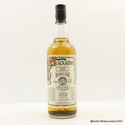 Glenlossie 1975 Blackadder Raw Cask 75cl
