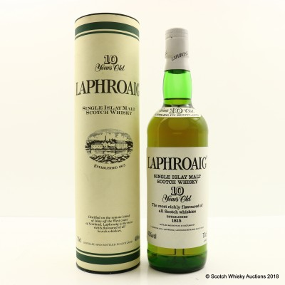 Laphroaig 10 Year Old Pre Royal Warrant
