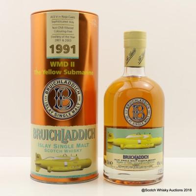 Bruichladdich WMD II Yellow Submarine 1991 14 Year Old