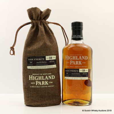 Highland Park 18 Year Old Single Cask #2865 Distillery Exclusive