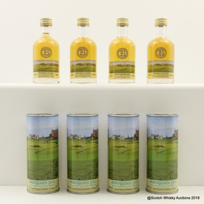 Bruichladdich Links The Old Course St Andrews 17th Hole Minis 4 x 5cl