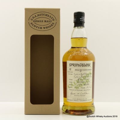 Springbank 2000 12 Year Old Calvados Wood