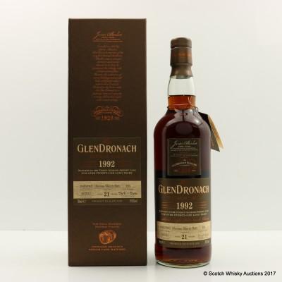 GlenDronach 1992 21 Year Old Single Cask #195