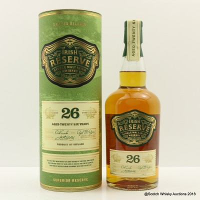 Irish Reserve 26 Year Old