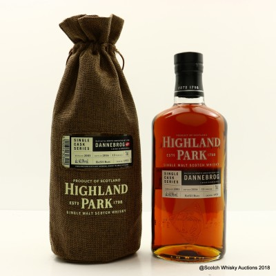 Highland Park 2003 13 Year Old for 808th Anniversary of The Dannebrog Single Cask #1933