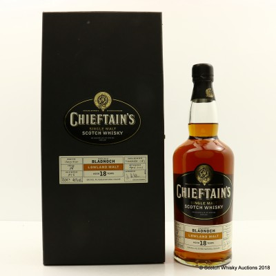 Bladnoch 1983 18 Year Old Chieftain's