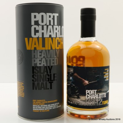 Port Charlotte Valinch 12 Cask Exploration Tunn 50cl