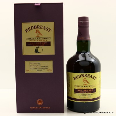Redbreast Sherry Single Cask #18829 Master of Malt Exclusive