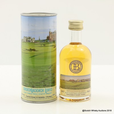 Bruichladdich Links The Old Course St Andrews 17th Hole Mini 5cl