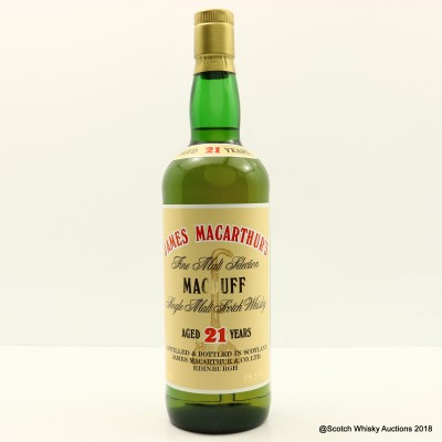 Macduff 21 Year Old James MacArthur's 75cl