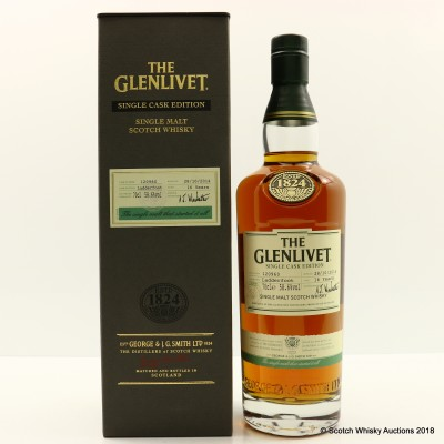 Glenlivet 16 Year Old Ladderfoot Single Cask Edition