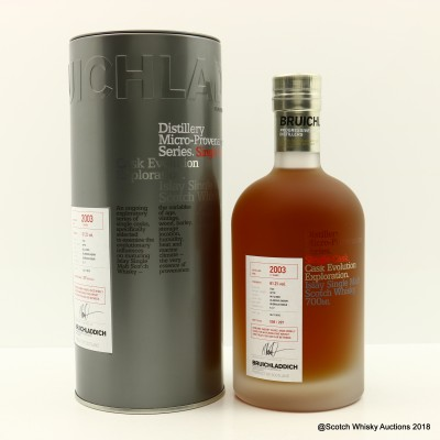 Bruichladdich Micro Provenance 2003 11 Year Old
