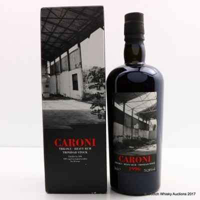 Caroni 1996 20 Year Old For 60th Anniversary Of La Maison Du Whisky