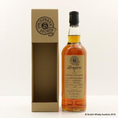 Longrow 2007 9 Year Old Society Bottling