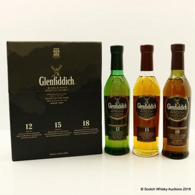 Glenfiddich Single Malt Collection 3 x 20cl