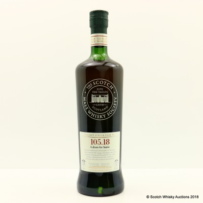 SMWS 105.18 Tormore 1983 28 Year Old