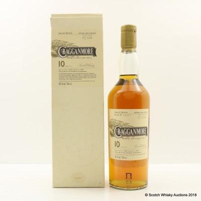 Cragganmore 10 Year Old Special Edition 2004