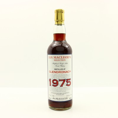 Glendronach 1975 Ian Macleod's Selection