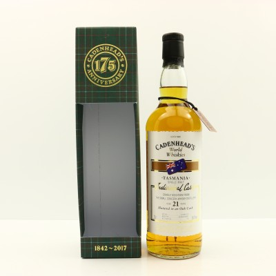 Cradle Mountain Small Concern 21 Year Old Cadenhead's