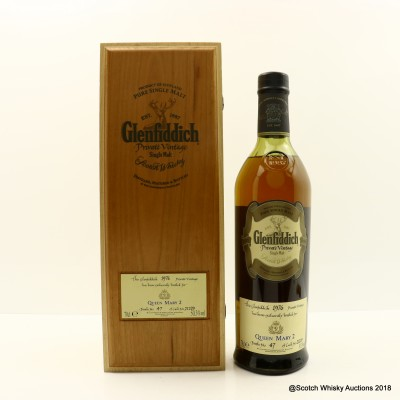 Glenfiddich 1976 Private Vintage For Queen Mary 2