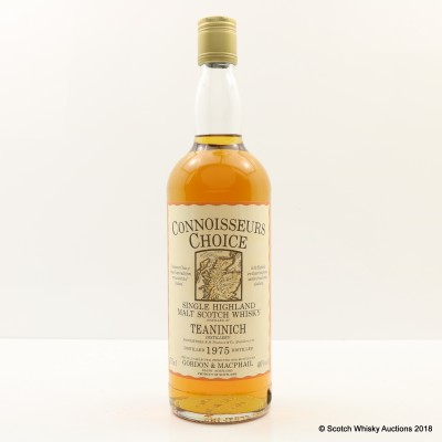 Teaninich 1975 Connoisseurs Choice 75cl