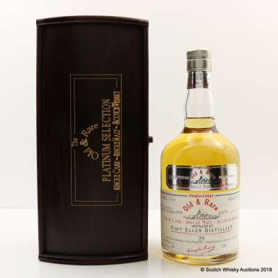 Port Ellen 1979 29 Year Old Old & Rare World Duty Free Exclusive