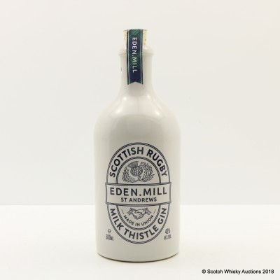 Eden Mill Scottish Rugby Milk Thistle Gin 50cl