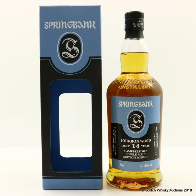 Springbank 2002 14 Year Old Bourbon Wood