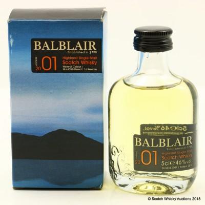 Balblair 2001 5cl