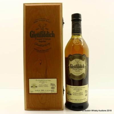 Glenfiddich 1977 Bottled To Celebrate Turnberry's Centenary