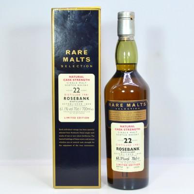 Rare Malts Rosebank 1981 22 Year Old