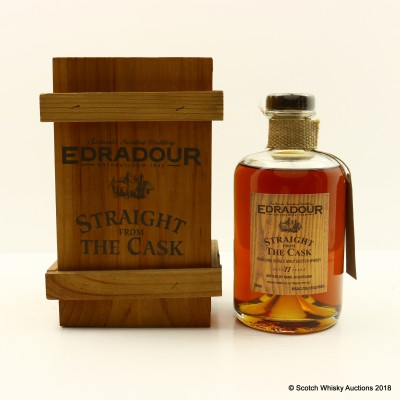 Edradour 1991 11 Year Old Straight From The Cask 1st Edition 50cl