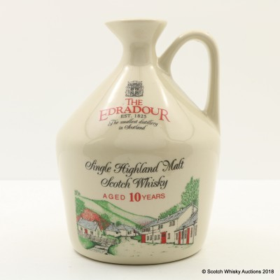 Edradour 10 Year Old Ceramic Flagon 75cl