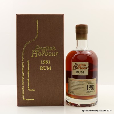 English Harbour 1981 Rum