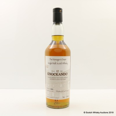 Manager's Dram Knockando 12 Year Old
