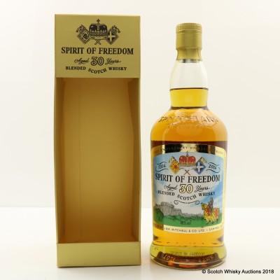 Spirit Of Freedom 30 Year Old Cadenhead's