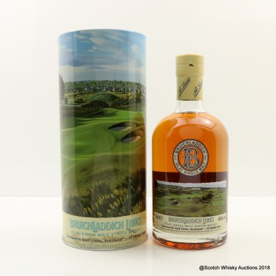 Bruichladdich Links Carnoustie Golf Links Scotland 14 Year Old