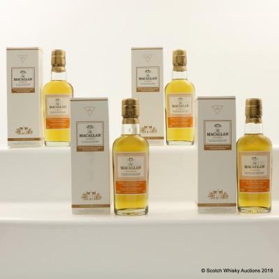 Macallan Amber Minis 4 x 5cl