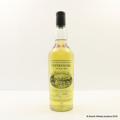 The Manager's Dram Glenkinchie 15 Year Old