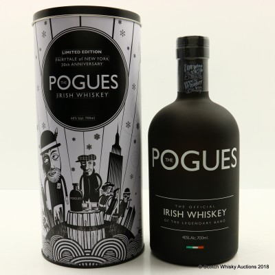 The Pogues Irish Whiskey Fairytale Of New York 30th Anniversary Edition