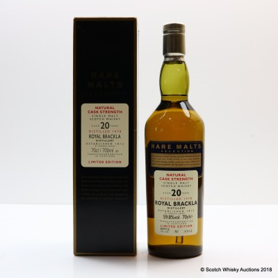 Rare Malts Royal Brackla 1978 20 Year Old