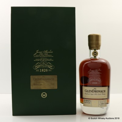 GlenDronach 1991 25 Year Old Kingsman Edition