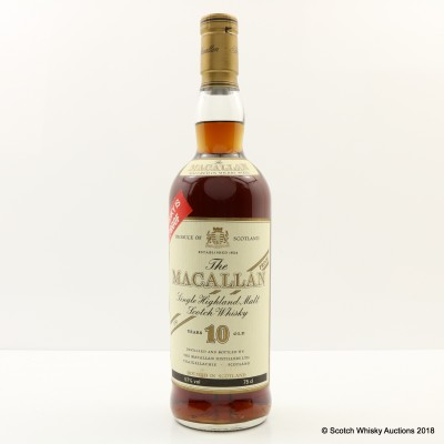 Macallan 10 Year Old 100° Proof 75cl